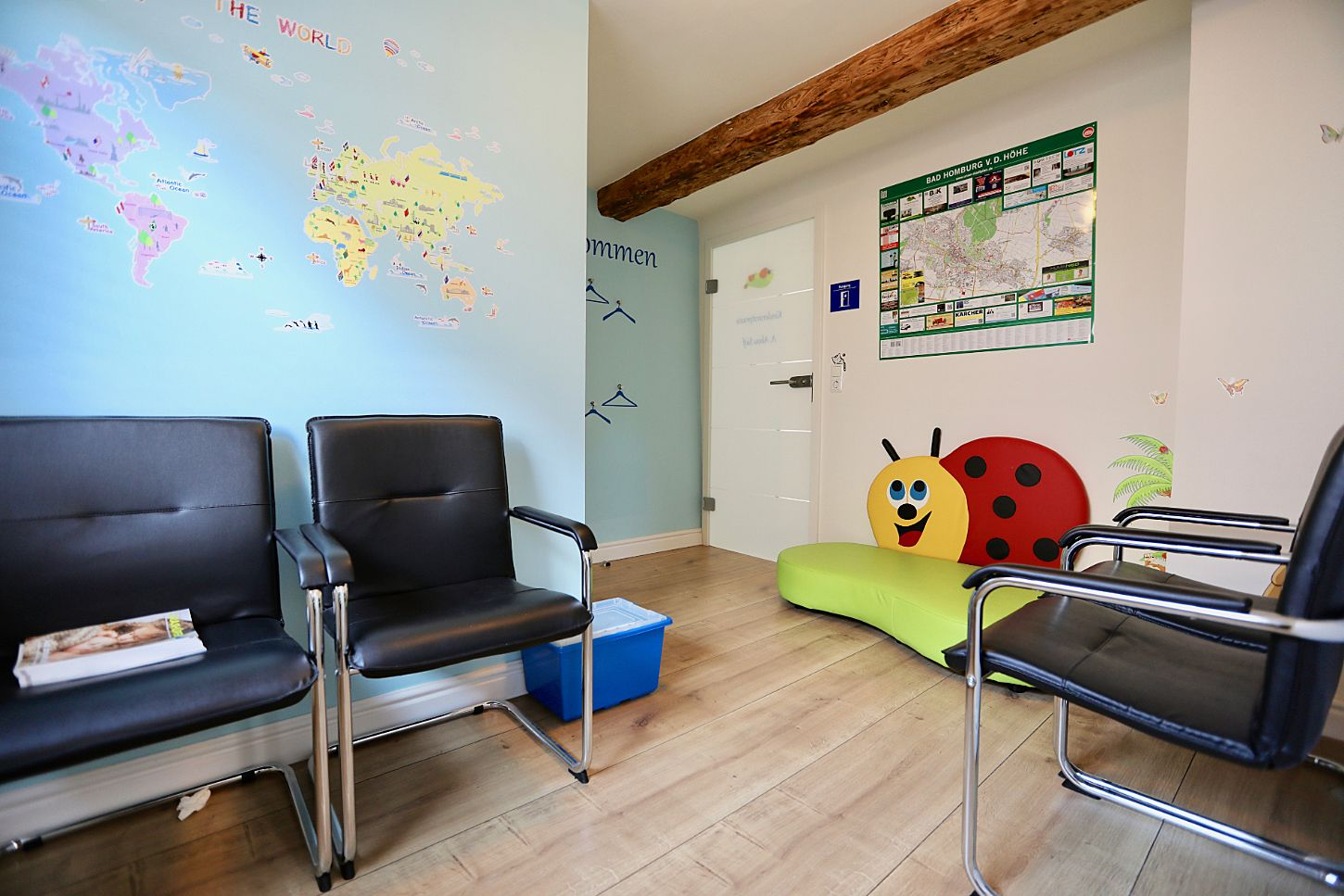 Pediatrician practice in Bad Homburg 2